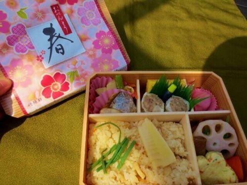 【駅弁】崎陽軒「おべんとう春」4月の暑い日に外で食べたぞ