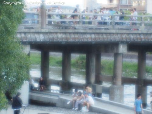 猛暑!ソフトレンズで撮る京都祇園白川の夏風情とJR湖西線をご紹介します