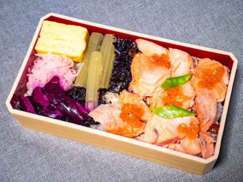 鮭いくらまぶし弁当(一ノ関駅)@東京駅駅弁屋祭